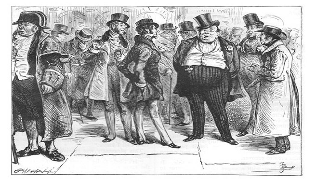 Depiction of the bourgeoisie. (Archive)