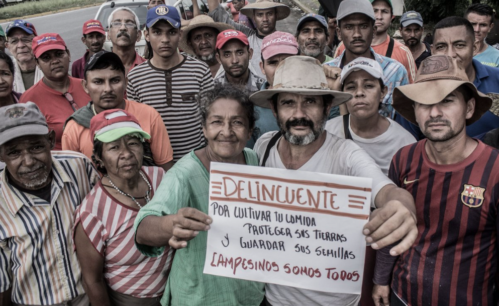 The Admirable Campesino March in Lara State. (Gerardo Rojas)