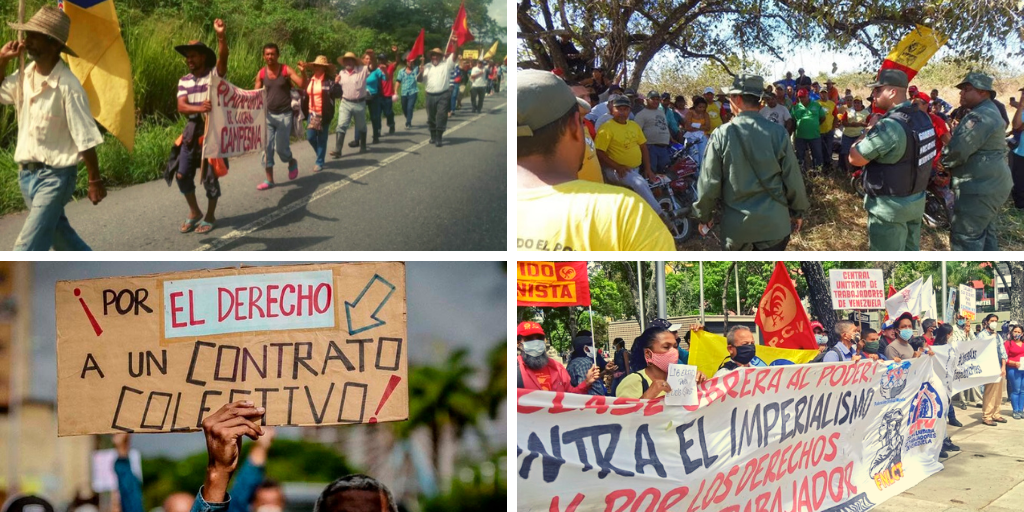 left organizations demand the liberty of jailed workers. (Archive)