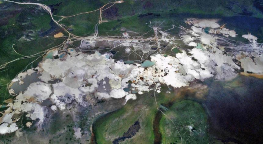 Caroní River Basin in the Orinoco Mining Arch. (Observatorio de Ecología Política)