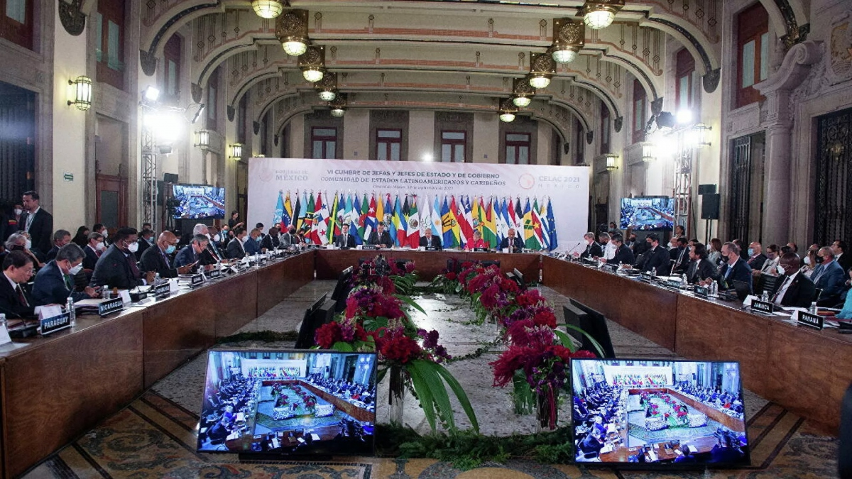 The VI CELAC Summit was held in Mexico over the weekend. (Presidencia of Mexico / Reuters)