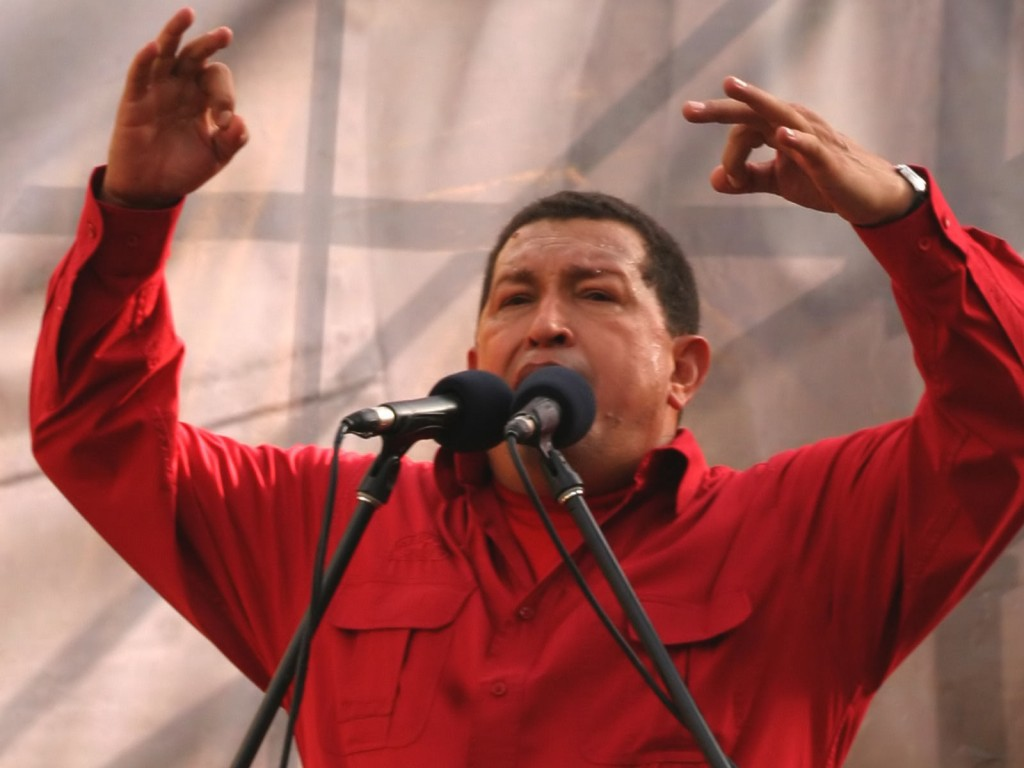 Chavez declared the anti-imperialist character of the Bolivarian Revolution in 2004. (Archive)