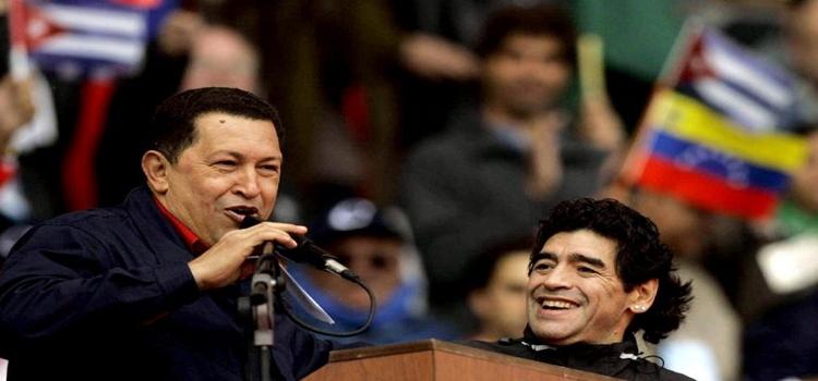 Hugo Chavez in Mar del Plata, Argentina, 2005. (Archives)