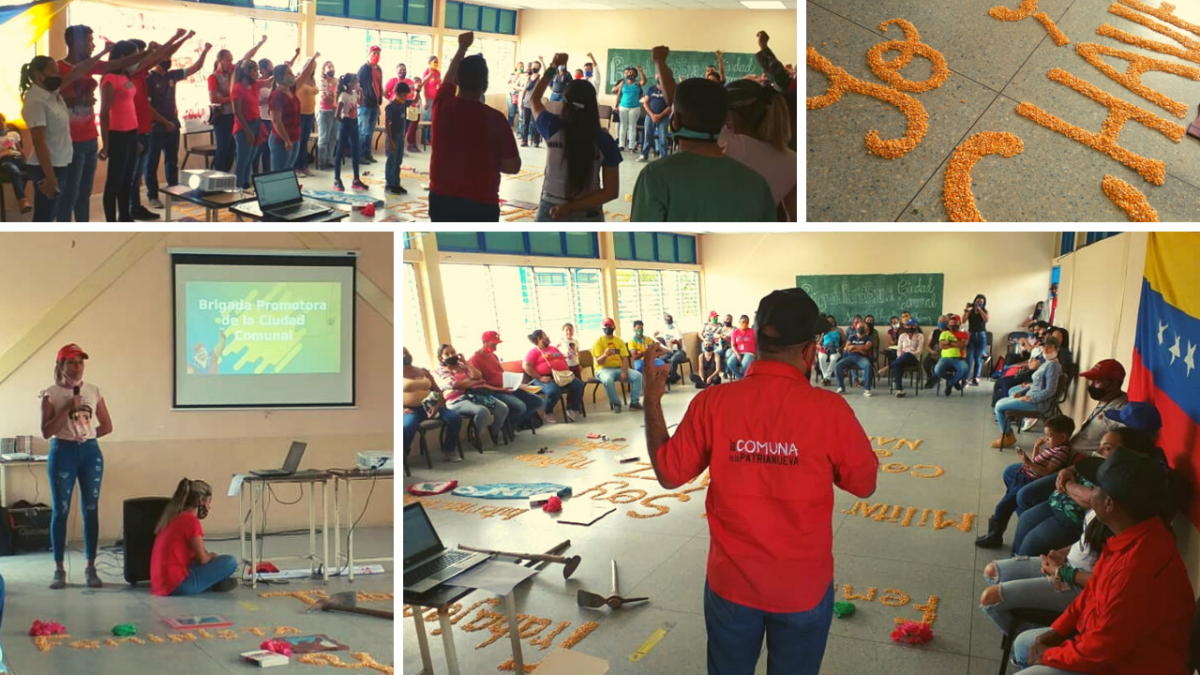 The first meeting for creating the Hugo Chávez Commune in the Lara and Portuguesa states was held on Saturday, January 9. (El Maizal Commune)