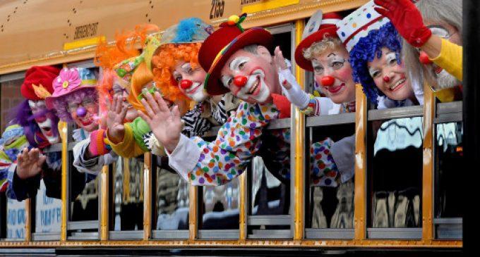 Clowns and foolish politics (Archive)