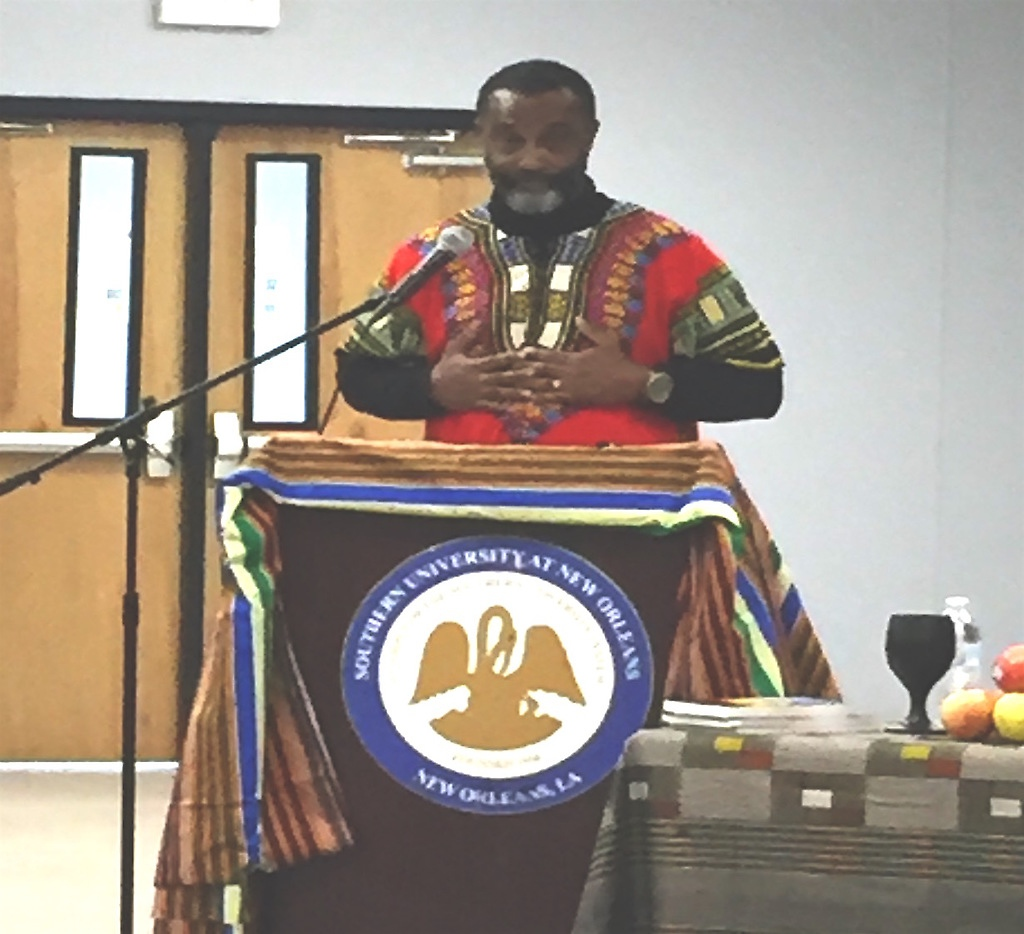 The head of the Center for African and African American Studies (CAAAS) of the Southern University at New Orleans, Dr. Clyde Robertson. (Aporrea)