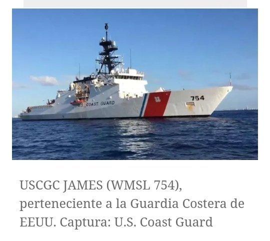 US Coast Guard James 754 (@rocaLaMolesta / Twitter)