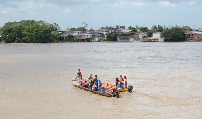 The Colombia-Venezuela border in Apure state. (Víctor de Currea-Lugo)