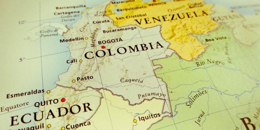 Colombia-Venezuela map (Archives)