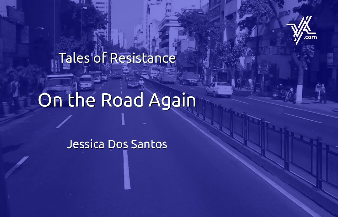 Jessica Dos Santos reflects on an accident and the state of the Venezuelan justice system. (Venezuelanalysis.com)