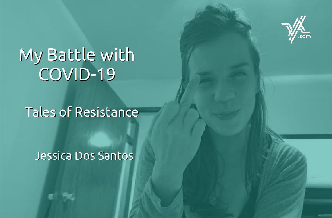 Jessica Dos Santos recently recovered from COVID-19. (Venezuelanalysis)