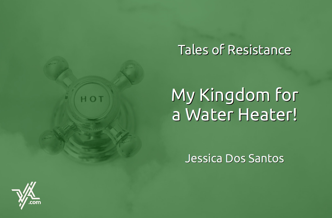 "Jessica Dos Santos wrote about her ""battle"" to replace a water heater. (Venezuelanalysis.com)"