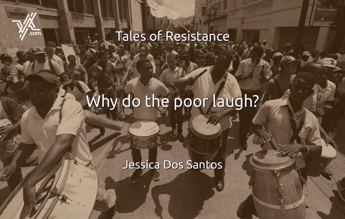 VA columnist Jessica Dos Santos asks (and answers) why the poor laugh in Venezuela. (Venezuelanalysis)
