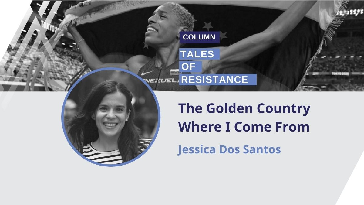 Jessica Dos Santos analyzed Venezuela's Tokyo 2020 performance and reactions. (Venezuelanalysis)