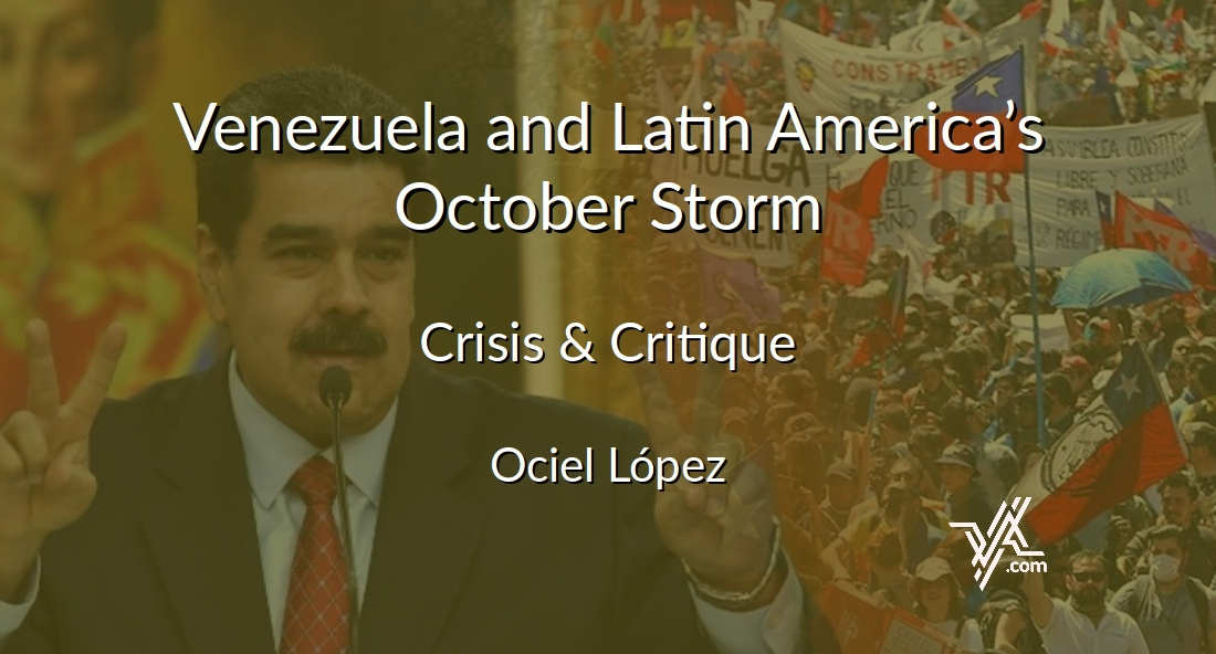 How will recent events in Argentina, Chile and Ecuador affect Venezuela? Ociel Lopez takes a look. (Venezuelanalysis)