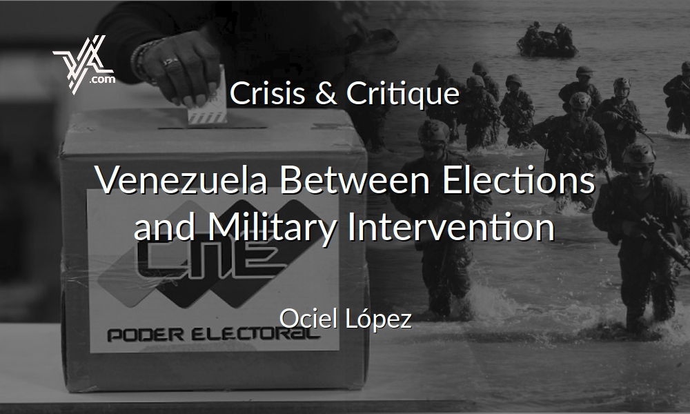 VA columnist Ociel Lopez takes stock of the different political scenarios in Venezuela. (Venezuelanalysis)