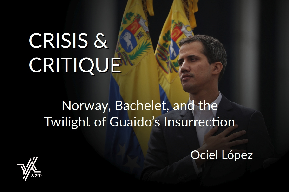 "Ociel Lopez will write a monthly column for VA titled ""Crisis & Critique."" (Venezuelanalysis)"