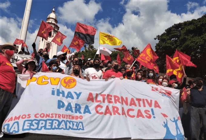 March of the Revolutionary Popular Alternative in Caracas, December 2020. (APR)