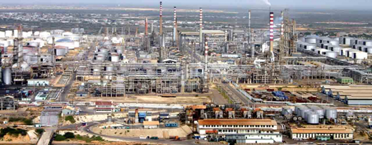 Paraguana Refining Complex in Falcon State. (PDVSA)