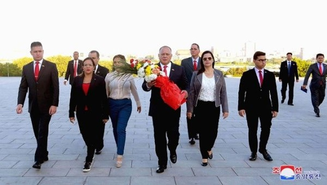 A Venezuelan delegation led by ANC President Diosdado Cabello has visited North Korea and Vietnam (KCNA).