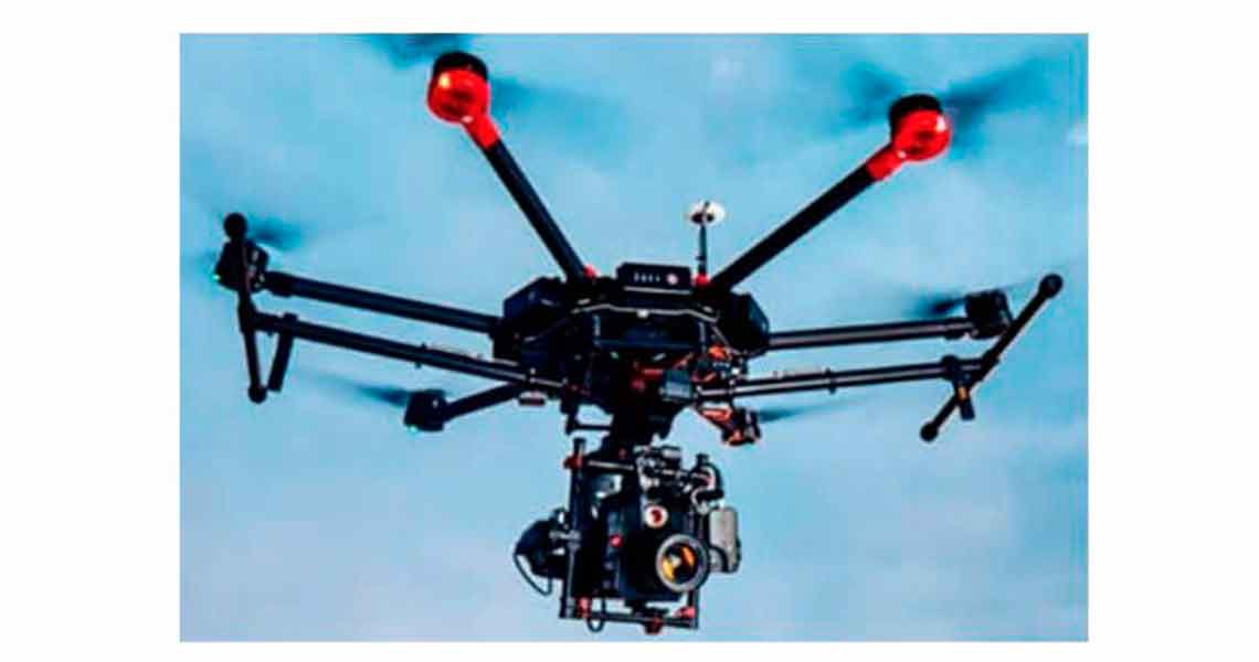 A DJIM600 drone which was used in the attack against President Maduro (Ultimas Noticias)