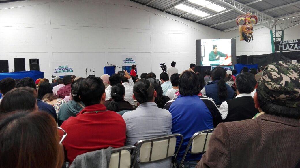 Ecuador:  The Convention Of The Movement of Alfarist Revolution Supports Venezuela