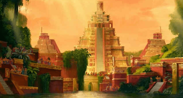 The mythical golden city of El Dorado was thought to be located in South America (History Collection Colombia)