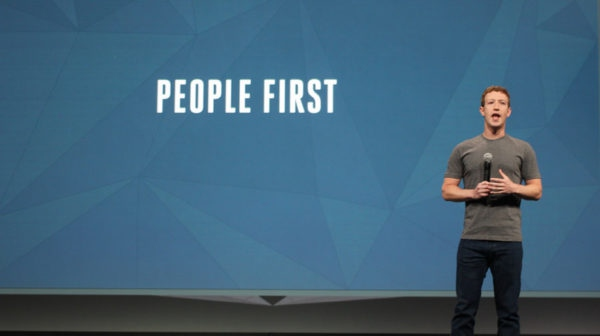 Facebook CEO Mark Zuckerberg. (Archive)