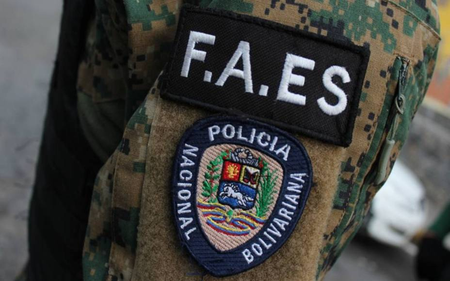 The Bolivarian Police Special Action Forces, FAES was created in 2016 (El Nacional)