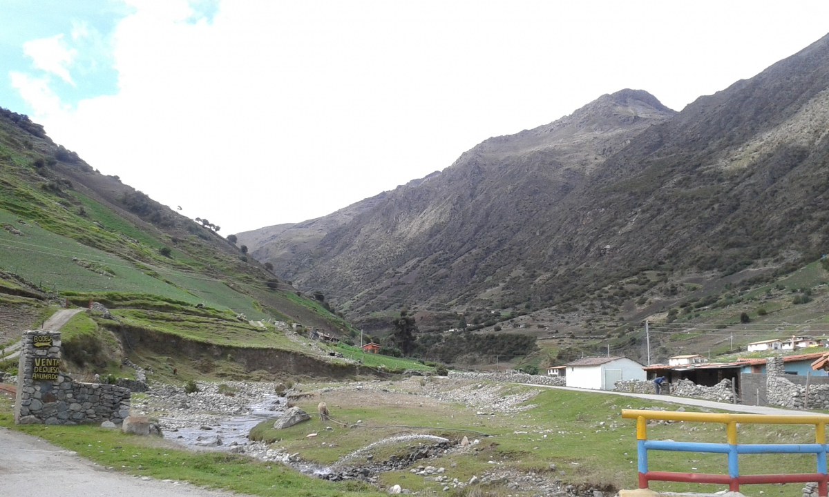 Village of Gavidia in the Andean páramo (Ricardo Vaz)