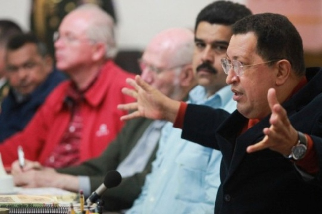 In his final public speech, Chávez reiterated his views on the construction of socialism in Venezuela. (PSUV)