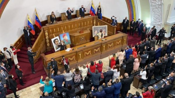 The 277 newly elected deputies took office this Tuesday (VTV)