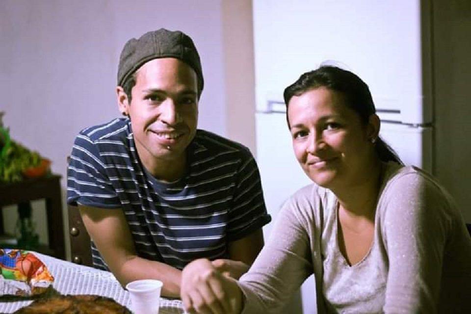 Alfredo Chirinos and Aryenis Torrealba. (Archive)