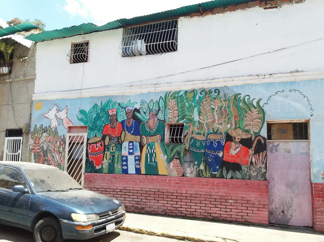"""Mural from the """"Marín, Guaguanco of Colours"""" project. (Ricardo Vaz)"""