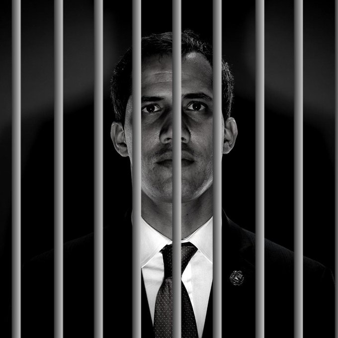 """Many are calling for self-declared """"interim president"""" Juan Guaidó to be arrested. (Archive)"""