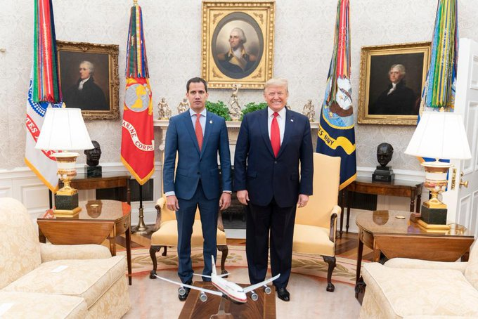 Trump hosted Guaido at the White House on Wednesday.