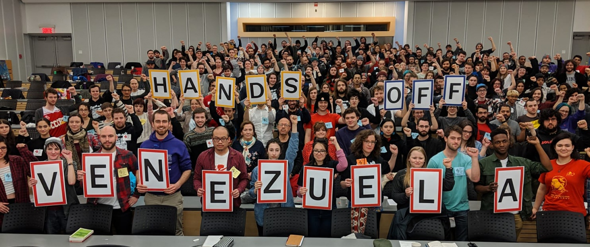 Hands Off Venezuela in Canada. (Hands Off Venezuela campaign)