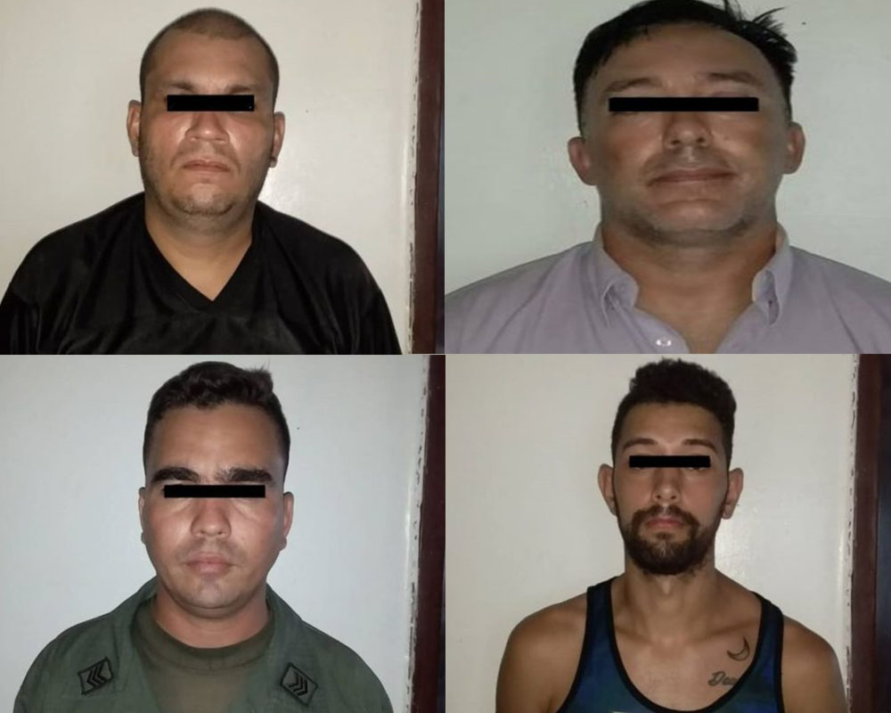 "Four men were arrested close to the Paraguaná Refining Complex in Falcon State on Thursday, including a US citizen accused by authorities of being a ""spy."" (La Voz de Falcon)"