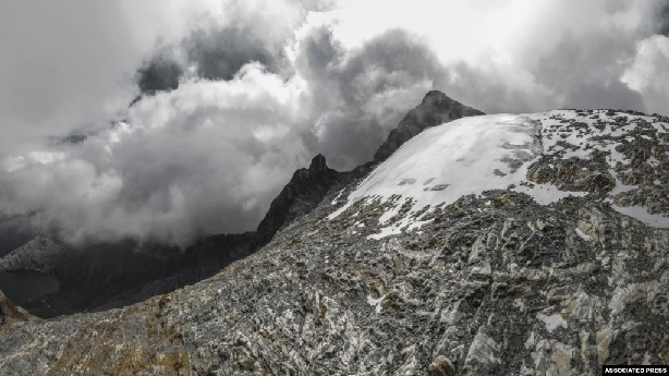 Venezuela may be the first country to lose all its glaciers in the region. (AP)