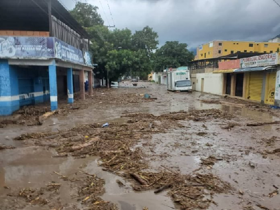 Floods in Aragua State after the Limon river overflowed in September (Archive)
