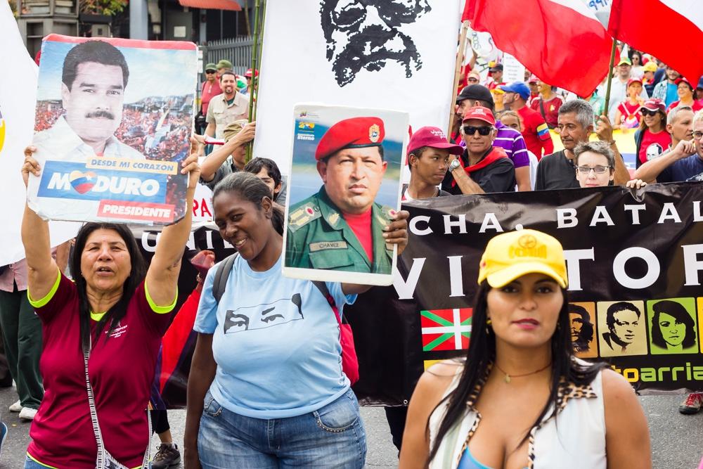 Mobilization in defense of constitutional President Nicolás Maduro