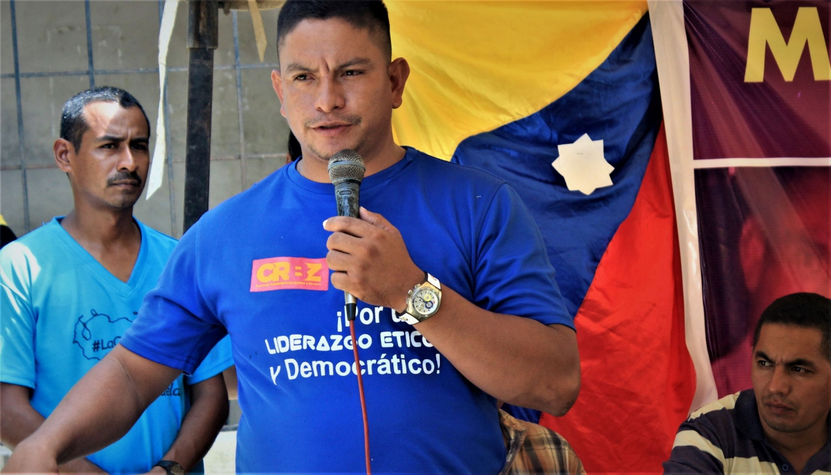 "Pedro Alvarado, militant of CRBZ and constituent assembly deputy: ""If there is no justice we will apply other options, we will denounce with first and last names, and other means of pressure..."" (Katrina Kozarek / Venezuelanalysis.com)"