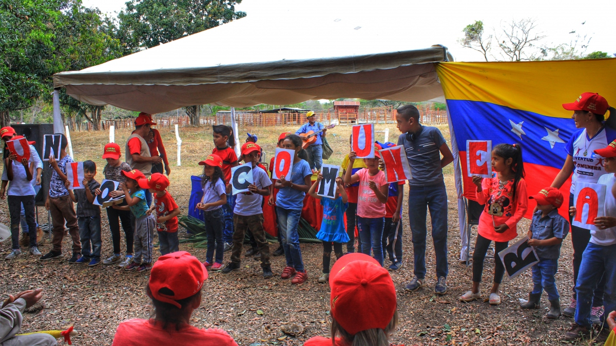 Anniversary of El Maizal Commune: Little communards