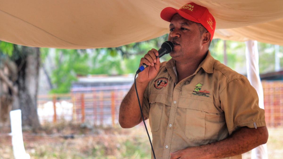 Anniversary of El Maizal Commune:  Angel Prado