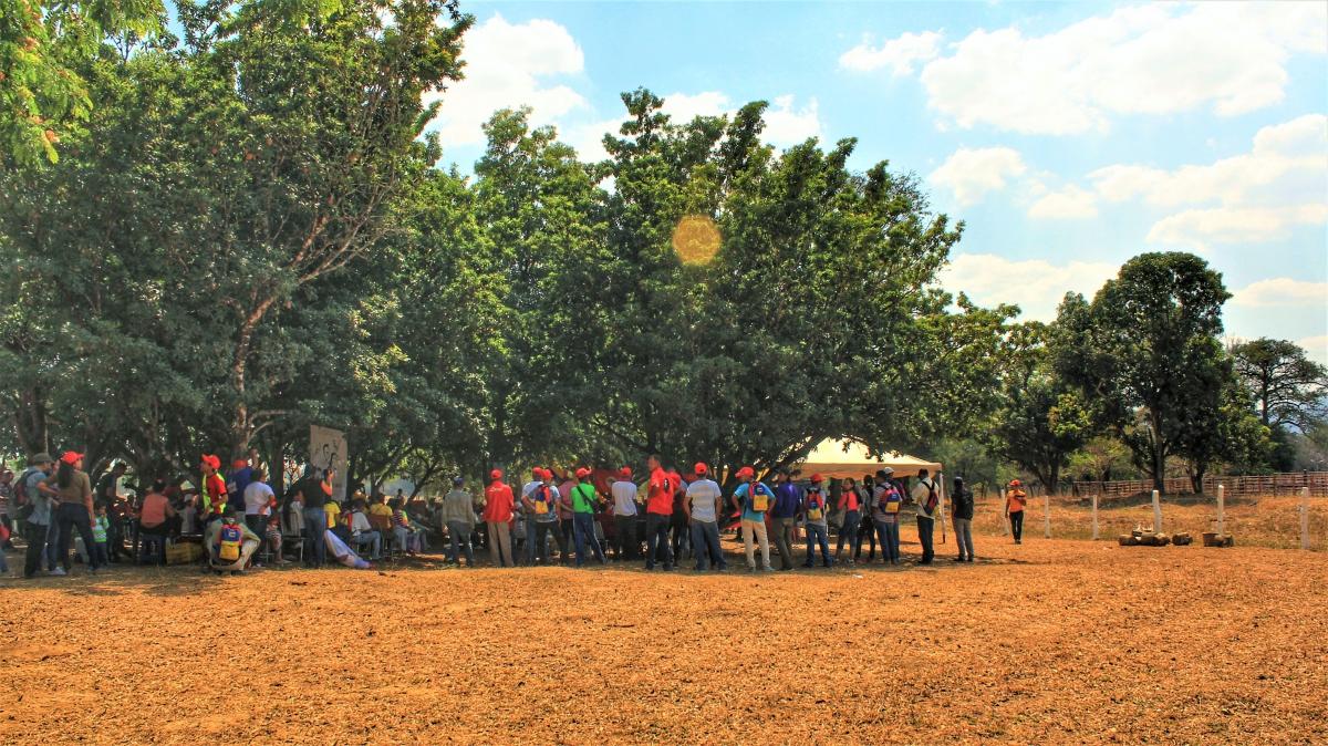 Anniversary of El Maizal Commune:  Opening act