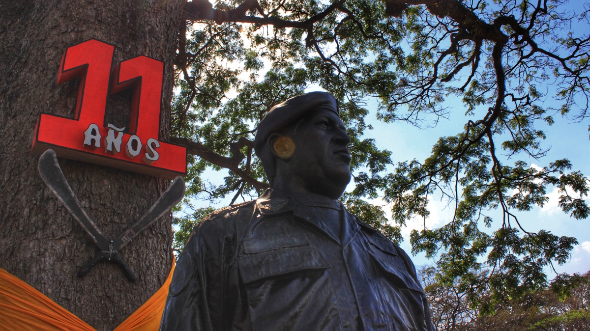 Anniversary of El Maizal Commune: Chávez present in the celebration