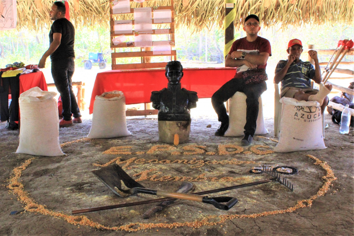 Anniversary of El Maizal Commune: EPSDC of Mechanization and Planting