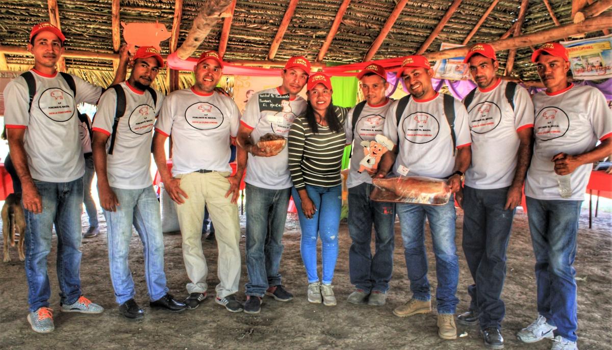 Anniversary of El Maizal Commune: Pork production unit