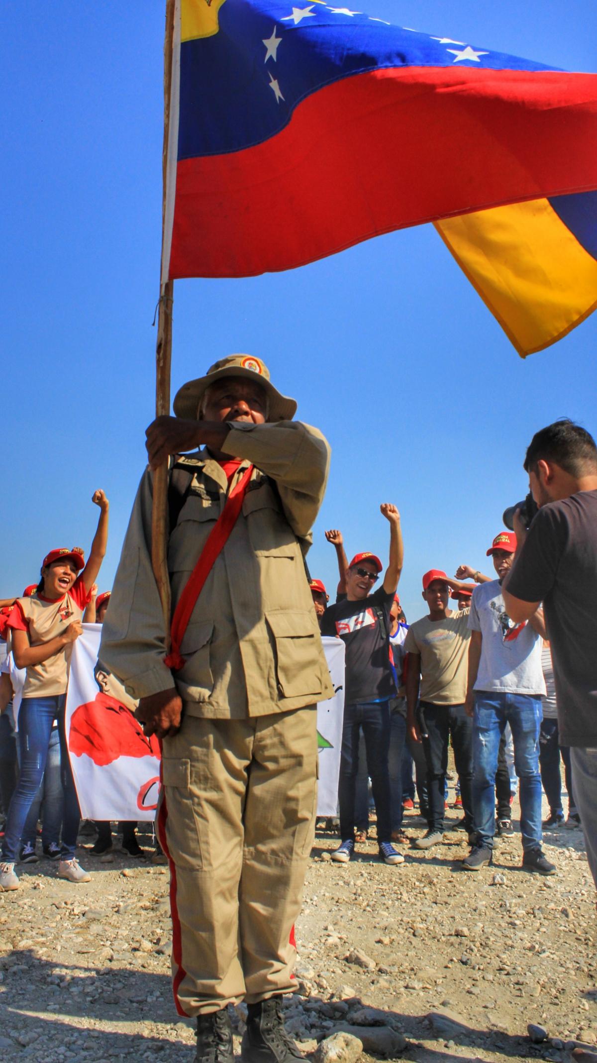 Anniversary of El Maizal Commune: Militia