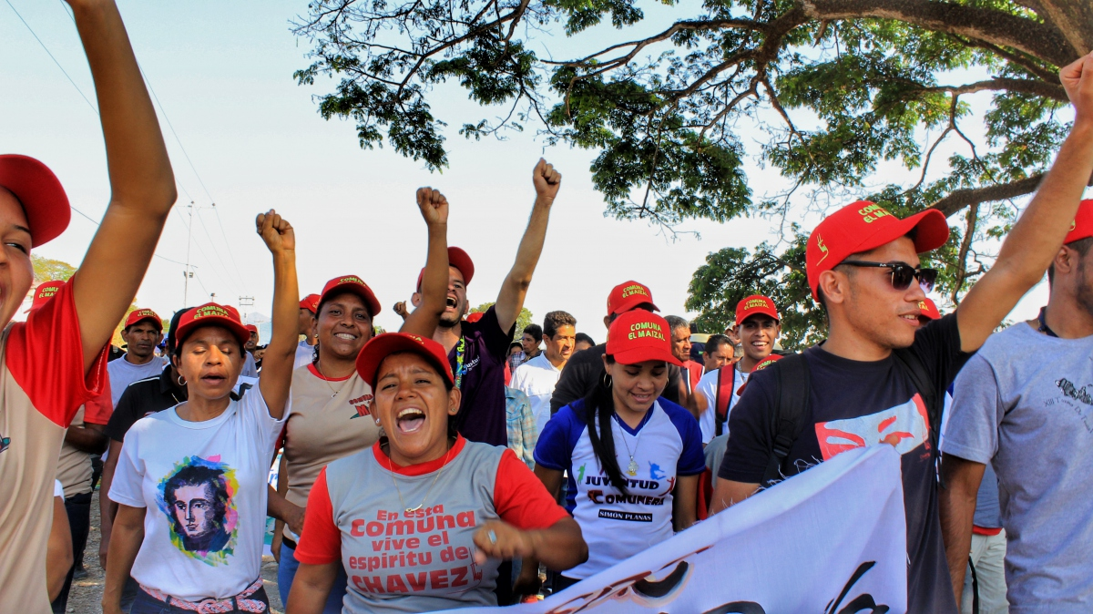 Anniversary of El Maizal Commune: Enthusiastic communards